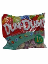 Dum Dums Limited Edition Tropical Flavors Assorted Candy Pops 453g