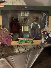 NECA Splinter vs Baxter Stockman 2-Pack Target Figures TMNT Ninja Turtles 2020