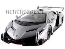 KYOSHO 09501GR LAMBORGHINI VENENO 1/18 DIECAST MODEL CAR GREY