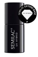Semilac Nail Gel Polish EXTEND BASE COAT UV/LED Soak off + FREE GIFT 10xTemplate