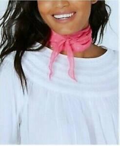 INC Women's Scarves Swiss Dot Kite Neck Wrap Scarf One Size Medium Pink, $19 NWT