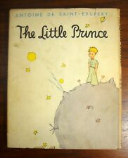 THE LITTLE PRINCE Antoine de Saint-Exupery 1943 HC DJ illustrated children's bk