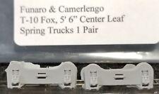 """LMH Funaro F&C T-10 T10 FOX TRUCKS Pressed Steel Center Leaf Spring 5'-6"""" WB 1pr"""