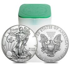 Roll of 20 2017 Silver American Eagles Coins BU! Lowest Price on The Web!!!!