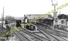 Fareham Railway Station Photo. Botley to Cosham and Gosport Lines. L&SWR. (2)