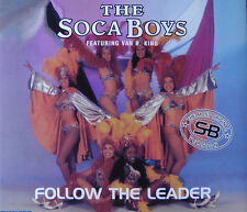 THE SOCA BOYS ft VAN B KING - Follow the leader 6TR CDM 1998 HOUSE / SOCA