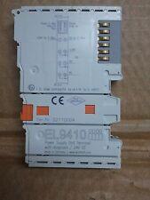 BECKHOFF EL9410  Power supply terminals for E-bus