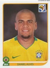 N°493 DANIEL ALVES # BRAZIL STICKER PANINI WORLD CUP SOUTH AFRICA 2010
