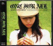 ONE FOR ALL - ROCK LOVE ROLL - Japan CD - NEW - J-POP - 12Tracks