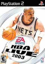 Nba Live 2003 PLAYSTATION 2 (PS2) Sports (Video Game)