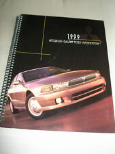 Mitsubishi Galant Press Information brochure 1999 USA market