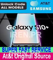 ATT PREMIUM FACTORY UNLOCK CODE SERVICE FOR AT&T SAMSUNG GALAXY S10 S10e S10+