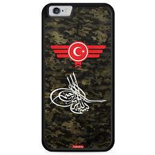 iPhone 6 6s Hülle SILIKON Case Osmanli Tugrasi Türkiye Türkei Camouflage Militä