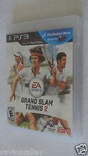 BRAND NEW Sealed Grand Slam Tennis 2 (Sony PlayStation 3, 2012)