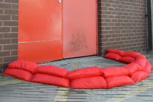 Hydrosnake The Instant Sandbag Emergency Flood Barrier Excess Water Flooding