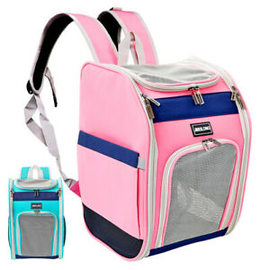 Pet Cat Dog Puppy Carrier Backpack Bag Outdoor Travel Breathable Mesh Comfort