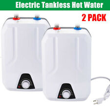 110V 8L Instant Electric Tankless Hot Water Heater Home Whole House 15KW US 2PCS