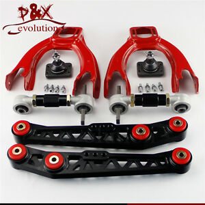 Lower Control Arm LCA+Front Upper+ Rear Camber Kit For Honda Civic EG  EH BK
