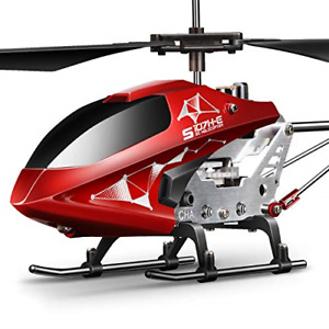 Remote Control Helicopter, S107H-E Aircraft with Altitude Hold, One Key take 3.5