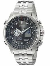 NEW Citizen Promaster Sky World Time Chronograph Pilot's Watch JZ1060-76E