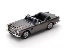 """Aston Martin DB4 Convertible """"Grey Metallic"""" 1962 (Spark 1:43 / S2426)"""