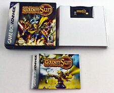 Golden Sun Nintendo Game Boy Advance Complete in Box Tested and Working!
