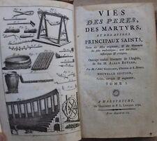 Alban Butler / vies des pères, des martyrs et autres principaux saints 10v