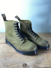 Dr Martens - 1460 Pascal Boots - UK 7 - Olive - New - I001