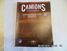 MAGAZINE CAMIONS D'AUTREFOIS N°45 BARREIROS SUPER AZOR GRAN RUTA 1964    J40