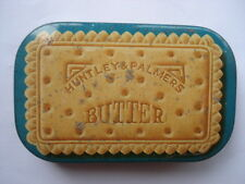 C1900 VINTAGE HUNTLEY & PALMERS BUTTER BISCUITS SAMPLE TIN