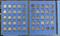 Complete Set Roosevelt Silver Dimes 1946-1964 All 48 Silver Dimes Whitman Folder