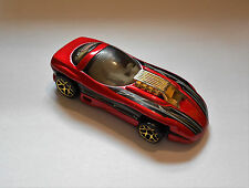 Hot Wheels 1993 Mattel Spectra Flame II red and black die cast