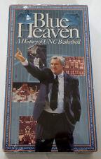 NEW NIP VHS Tape Blue Heaven A History of UNC Basketball