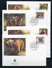 La Iugoslavia n. 2260-2263 gioielli-FDC mangiate Orsi-WWF!!! (133305)