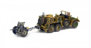 METAL MODEL Krupp Protze L2H143 + PAK 35/36 France 1943 1:72 Solido
