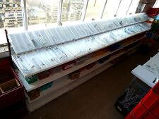 3m Lagerregal Sortierregal Regale Lager H 160cm mit Fächer Tegometall gebraucht