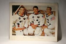 Rare Vintage Crew of First Manned Apollo Mission  Photo . Photo No 68 - HC - 387