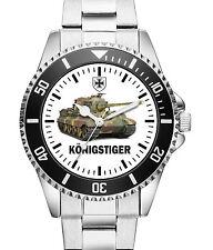 Panzer Königstiger Geschenk Artikel Soldat Uhr 1090