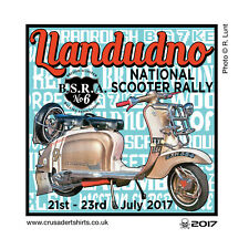 2017 CLEETHORPES SCOOTER RALLY RUN  PATCH MODS SKINHEADS not PADDY SMITH