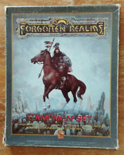 Dungeons & Dragons 1 1e 1st - Forgotten Realms - Campaign Set Box Set - Complete
