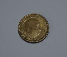 UNA 1 PTA Peseta Spain Spanien ESPANA 1963 Francisco Franco Münze Coin TOP!