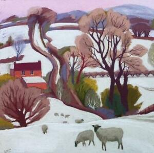 Charity Christmas Cards - Pack of 5 Cards - Sue Campion - Evening Snow