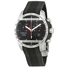 Certina DS Cascadeur  Chronograph Black Dial Mens Watch C0036172705000