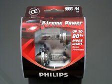Philips 9003 X-TremePower Vision H4 Halogen Headlight Light Bulb 60W/55W Germany