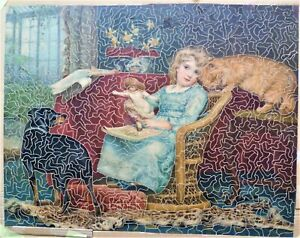 Vintage 1000 piece Wooden Jigsaw Puzzle.