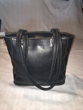 Vintage Coach Purse Black Genuine Soft leather