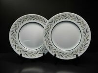 "Royal Doulton Almond Willow D6373  set of 2 - 10 3/8"" Dinner Plates"