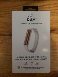 Misfit Ray Fitness Tracker Sleep Monitor Bracelet Band Rose Gold BMO