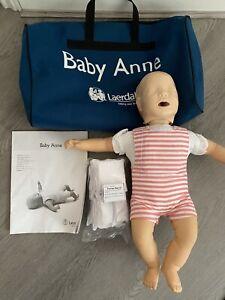 Laerdal CPR Baby Anne Manikin In Bag - Complete With 6 Sealed Airways