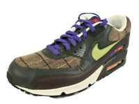 Nike Air Max 90 Premium 313650 331 Mens Shoes Leather Dark Army Sneakers DS 10.5